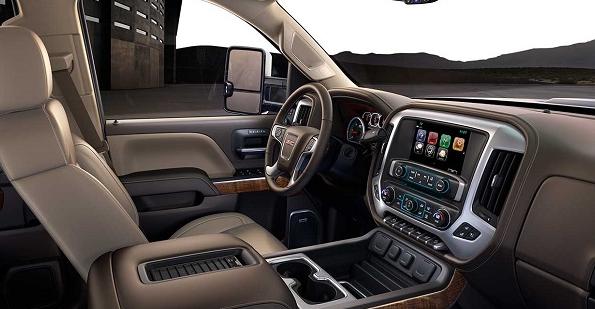 2019 GMC 2500 Interior