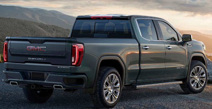 2019 GMC Sierra AT4 Exterior