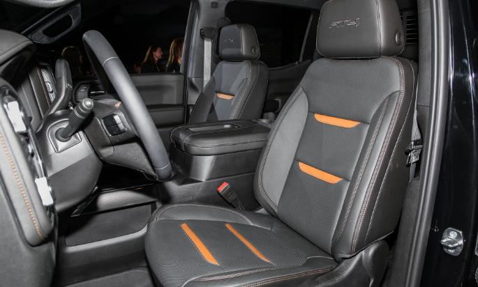 2019 GMC Sierra AT4 Interior – GMC Specs News