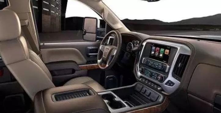 2020 GMC 2500HD Interior