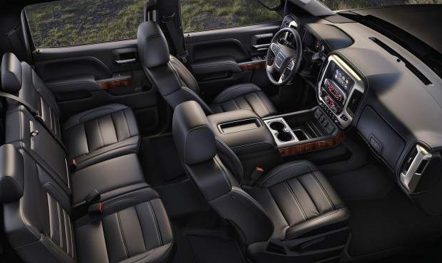 2020 GMC Sierra 2500HD SLE Interior