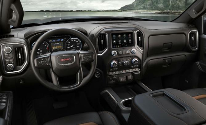 GMC Sierra 2019 Interior