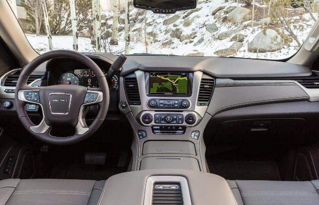 2019 GMC Yukon Diesel Interior