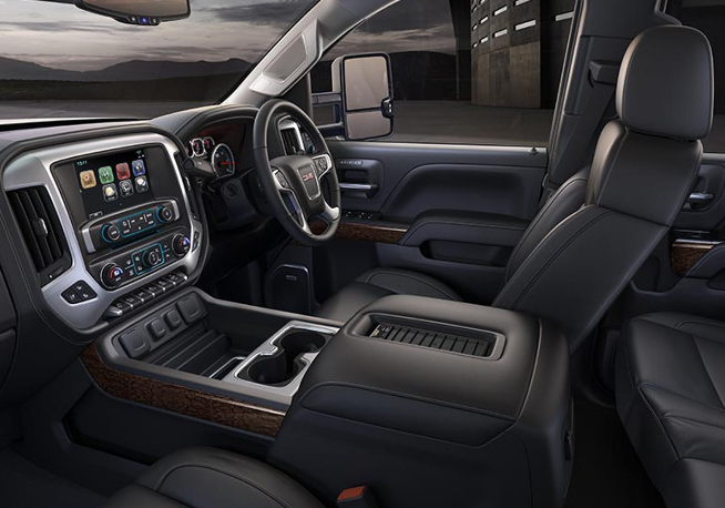 2019 GMC 3500HD Denali Interior