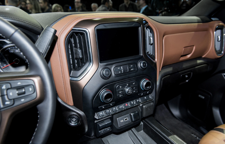 2020 GMC Sierra 3500HD Interior