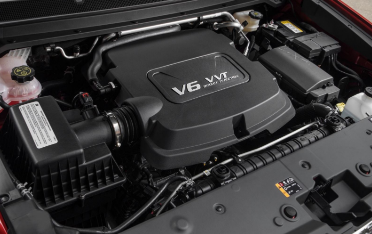 2020 GMC Yukon Denali XL Engine