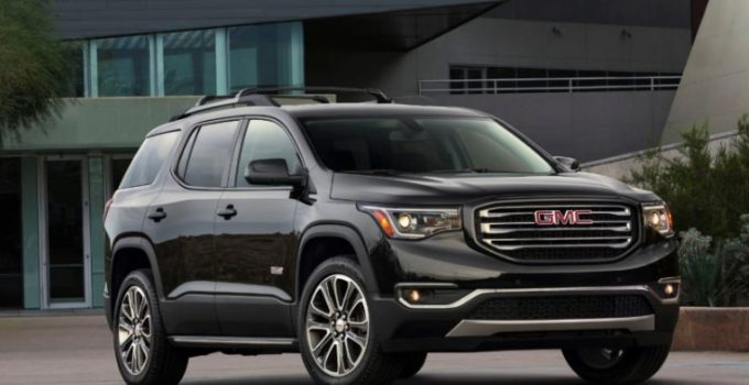 2021 gmc acadia at4 black  gmc specs news