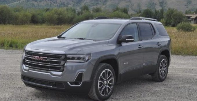 2021 gmc acadia at4 for sale  gmc specs news
