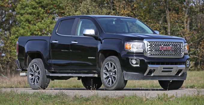2017 GMC Canyon Review Car And Driver