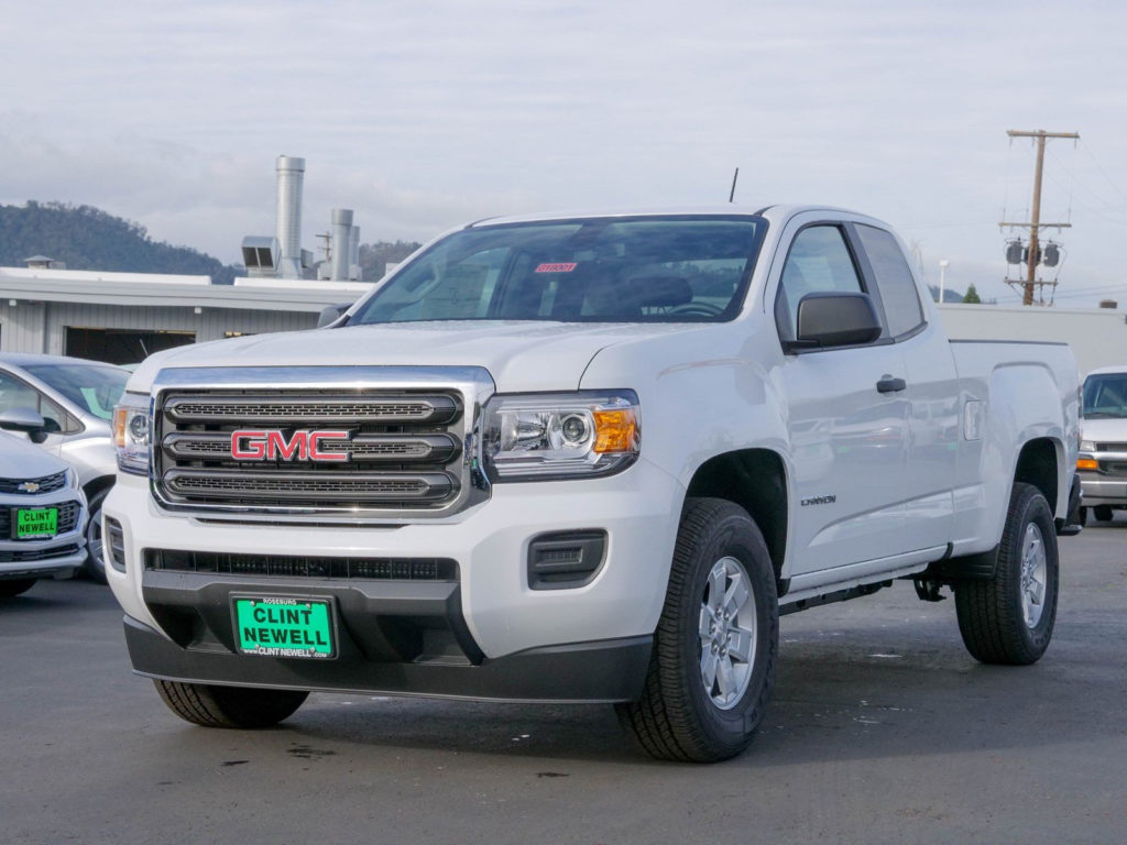 New 2018 GMC Canyon 2WD Extended Cab Pickup In Roseburg