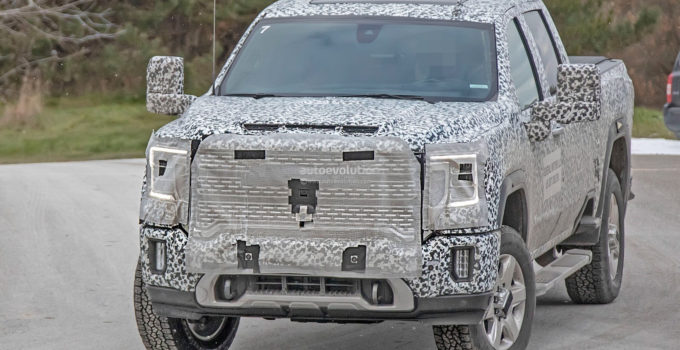 2020 GMC Sierra HD Spied In Denali Crew Cab Configuration