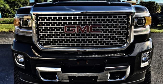 2016 GMC Sierra 2500HD DENALI DURAMAX 9 LIFT FUEL TURBO