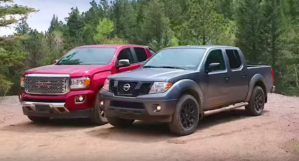 Ouch Off Road Misadventure With Nissan Frontier And GMC