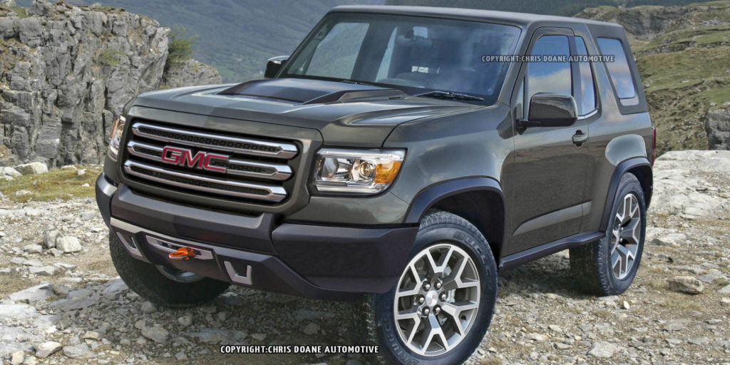 Report GMC Considering A Jeep Wrangler Competitor