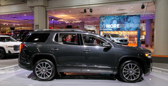 2020 GMC Acadia AT4 Reportedly Starts At 42 495