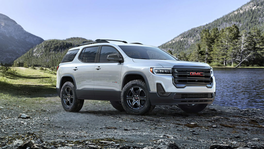 2021 Gmc Acadia At4 Transmission Options Electric Feature
