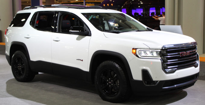 File 2020 GMC Acadia AT4 Front NYIAS 2019 jpg Wikimedia