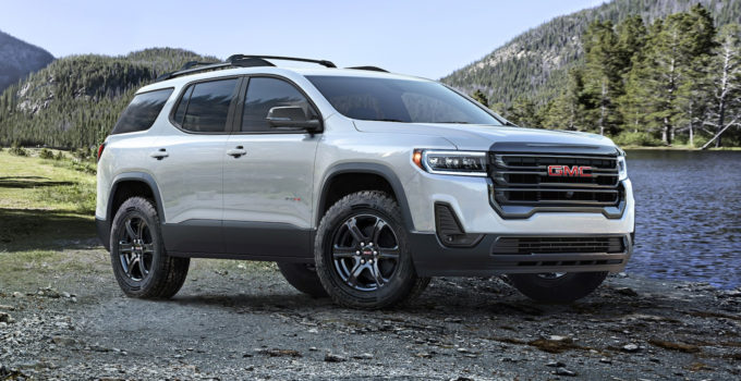 2020 GMC Acadia Reviews Research Acadia Prices Specs