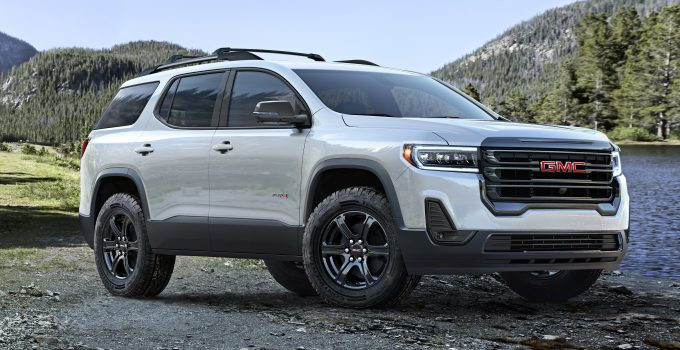 2021 GMC Acadia Denali Build 2022 GMC