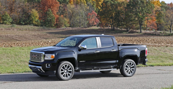 2017 GMC Canyon In Depth Model Review Car And Driver