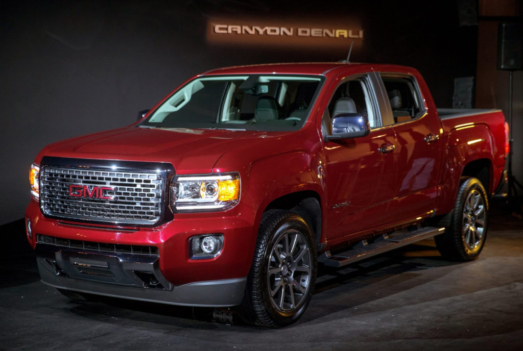 New 2019 GMC Canyon Side Photos Car Release Date And News