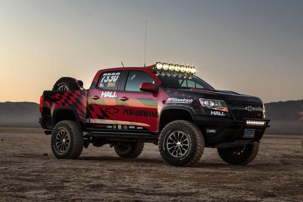 Chevy Colorado ZR2 Ready For Vegas to Reno Off road Race