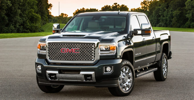 2017 GMC Sierra HD All Terrain X Brings High Torque To The