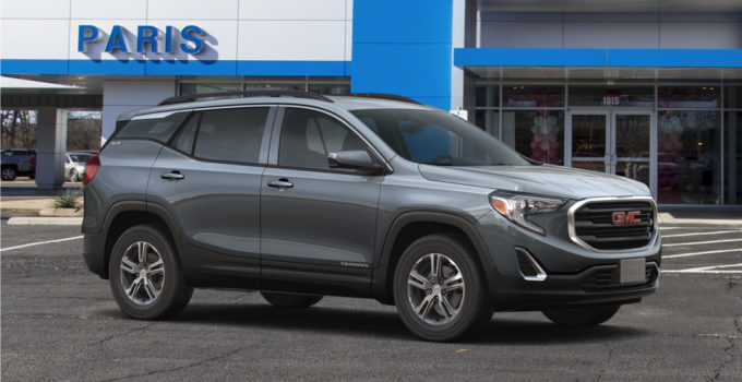 New 2020 GMC Terrain SLE Stock 20175 Graphite Gray