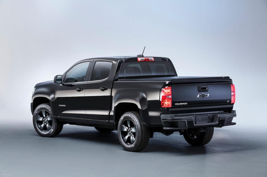 2016 Chevrolet Colorado Adds Midnight Edition Trail Boss