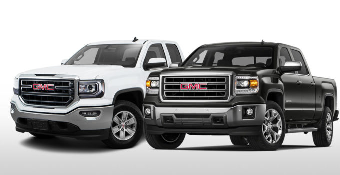 Trim Comparison GMC Sierra SLE Vs GMC Sierra SLT
