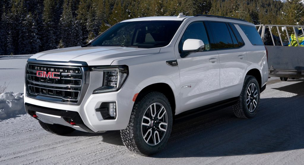 2021 GMC Yukon Is All New From The Ground Up Gains Rugged